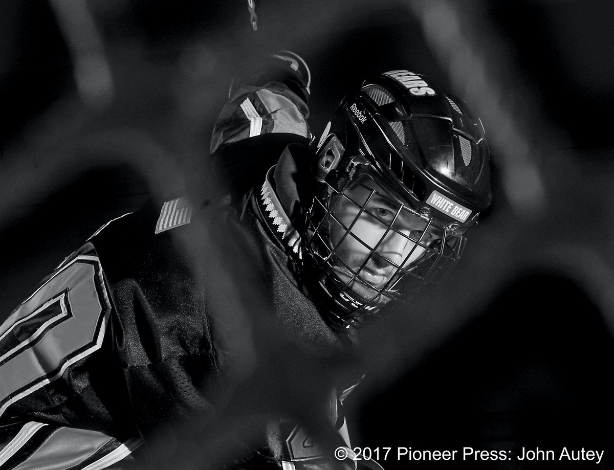 White Bear Lake junior forward Jake Wahlin is the 2014 Pioneer Press boys  hockey player of
